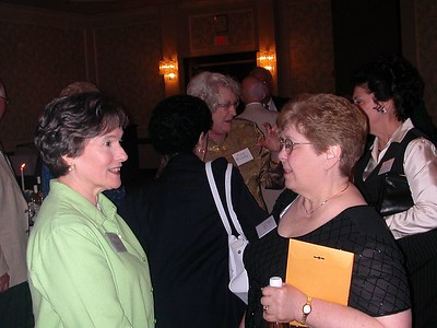 Helen (Brown) Akers and Betty Fischer