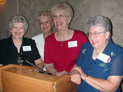 The Committee - Virginia (Evans) DiSalvo, Carole (Wilmot) Beck, Joanne (Roder) Schmoutz and Audrey (Schramm) Nelson