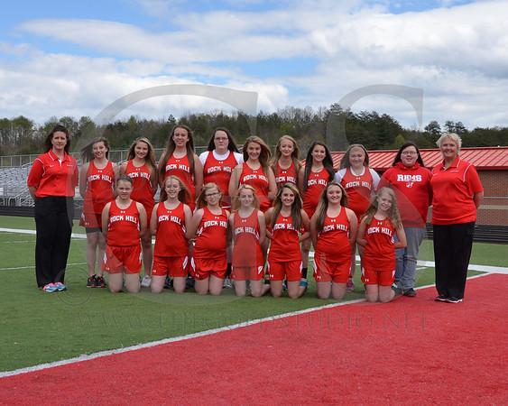 Rock Hill Middle School Track Teams 2014