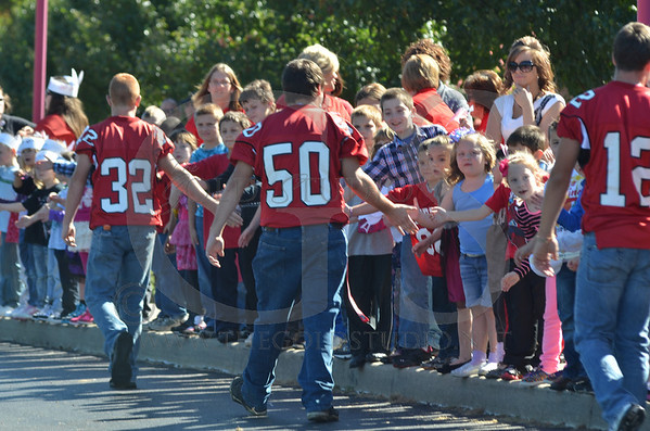 Rock Hill Spirit Parade (Right Click FREE) 10-11-2013