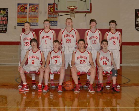 Rock Hill middle school Sports Teams 2013-2014
