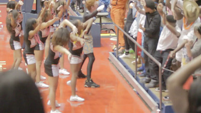 Rolisha Slade Stivers Cheer Flips 01Mar2013