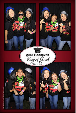 Roosevelt Project Grad 2013 (Stand Up Photo Booth #1)