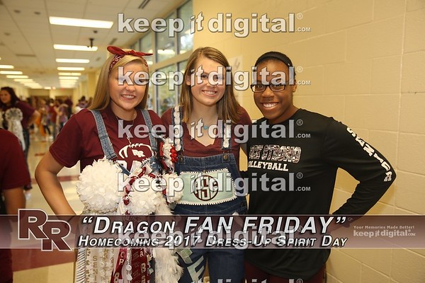 RRHS Homecoming 2017 - Fan Friday