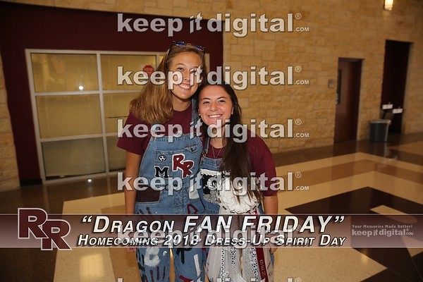 RRHS Homecoming 2018 - Fan Friday