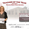 RRHS Teacher of Year 2010-2011 :