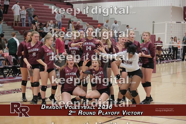 Vball 2nd Round Playoff - Post Game Photos