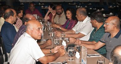 L-R . Rasa , Saveri , Siva , Appa , Yohini ( Appa's wife ) , Sunthar , Sonia , Praba , Elsie , Nage , KPath  & Mohan.