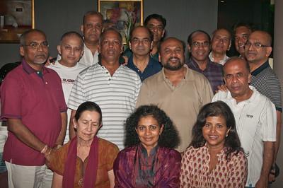 Back Row . Nage , KPath & Rasa. Middle Row . Sunthar , KBala , Sangi , Siva , Praba , Saveri , Thaya , Appa & Mohan.  Seated . Sonia , Elsie & Yohini.