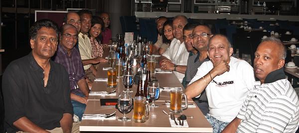 L-R . Muthu , Saveri , Siva , Appa , Yohini , Sunthar , Sonia , Praba , Elsie , Nage , KPath , Mohan , KBala & Sangi.