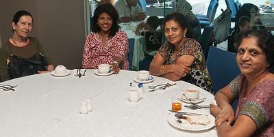 L-R. Sonia , Yohini , Elsie & Nalini ( Sivagumaaran's wife ).