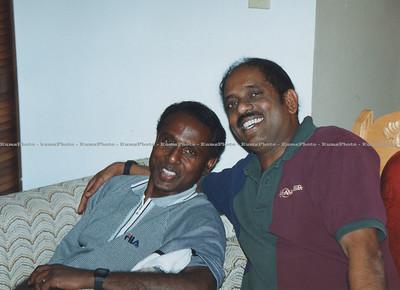 Milo Mylvaganam & Balkrishnan. Toronto, Canada - June 2000.