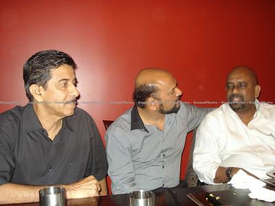 Praba's visit to Toronto, Canada - September 2011. (L - R ) - P Ravendran , Praba & Balakrishnan.