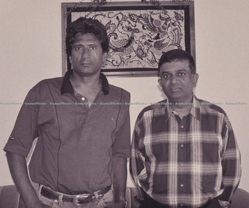 With Puvi. Toronto, Canada - June 2000.