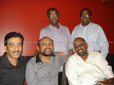 Praba's visit to Toronto, Canada - September 2011. Logarajah & P Srikanthan ( standing ) (L-R) - P Ravendran , Praba & Balakrishnan.