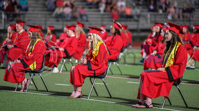 Despite the odds the Rusk Eagles Class of 2020, affectionately known around East Texas as the Quarantine Class due the coronavirus pandemic, attends an in person graduation ceremony on Friday, June 5.