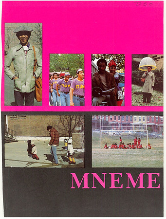 Rutgers Camden 1975 Yearbook Mneme
