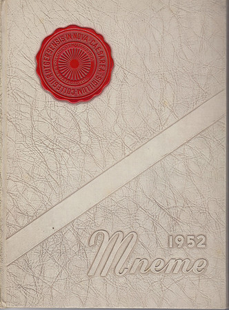Rutgers Camden Mneme 1952 Yearbook