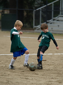 Ryan\'s first soccer game