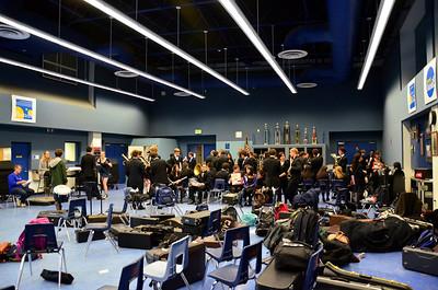 SAMO band room.