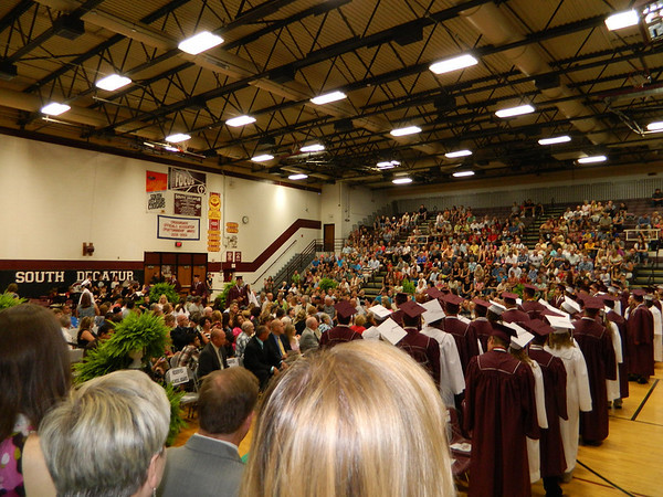 2013 graduation at South Decatur High School