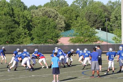 SFHS Spring practice