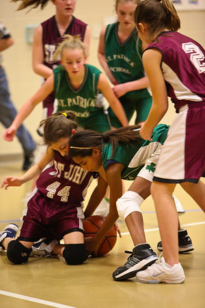 SJ Girls BB vs St Pats