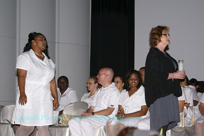 San Jacinto College Nursing Class of Summer 2009, Nightingale Cermony