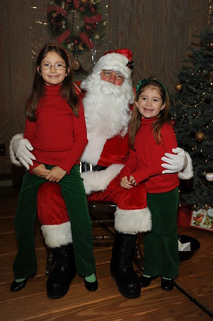 Santa Picts. at St. Philips School