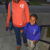 Keshia Andrews and her son Angel age 5 arrive for the start of school. Troy's School 2 started a new school year with a new Principal, school uniforms and new hours from 7:30AM to 4:30PM.  Thursday 09/05/13 (Mike McMahon/The Record)