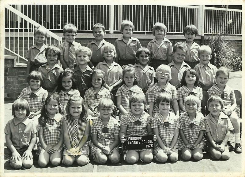 Glenbrook Infants School Kindergarten 1975