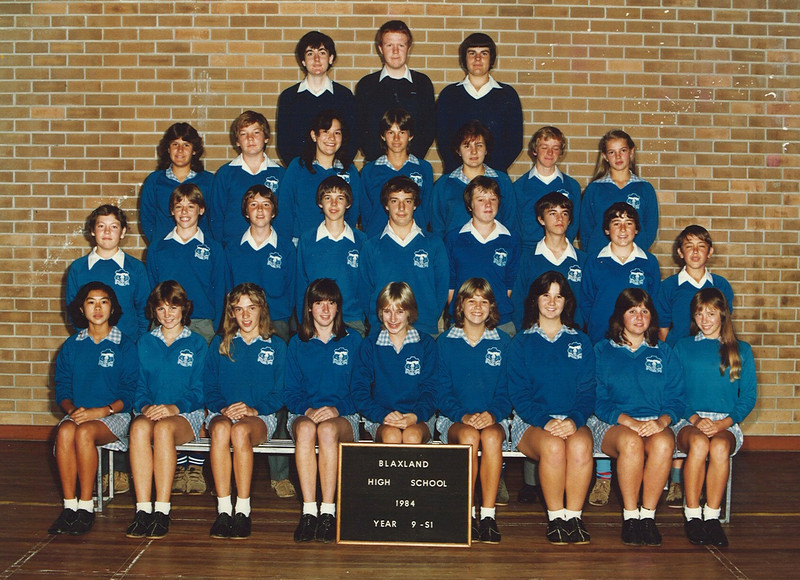Blaxland High Year 9 1984 - 9S1