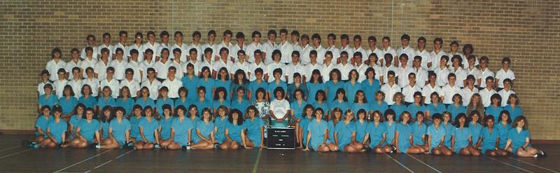 Blaxland High Year 12 1987