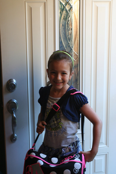 first day of 2nd grade - mrs gallo
