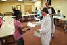 Certificates are handed out on the last day of the the Science in the Summer Program at the Abington Free Library.   Thursday,  July 3, 2014.   Photo by Geoff Patton