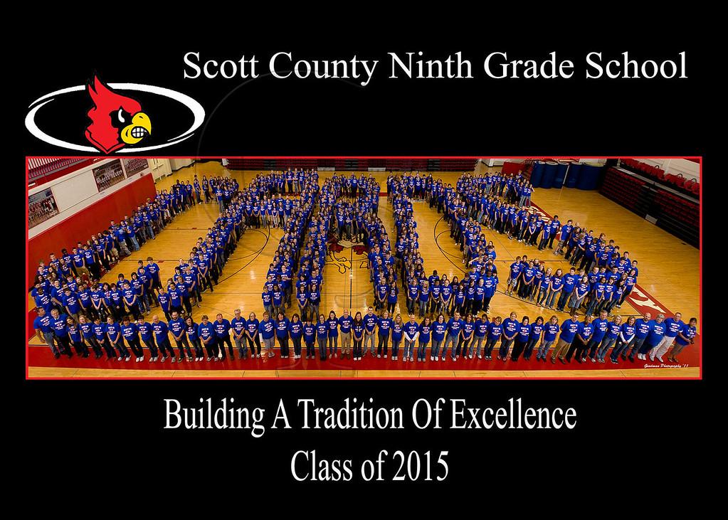 Scott County Ninth grade 5x7