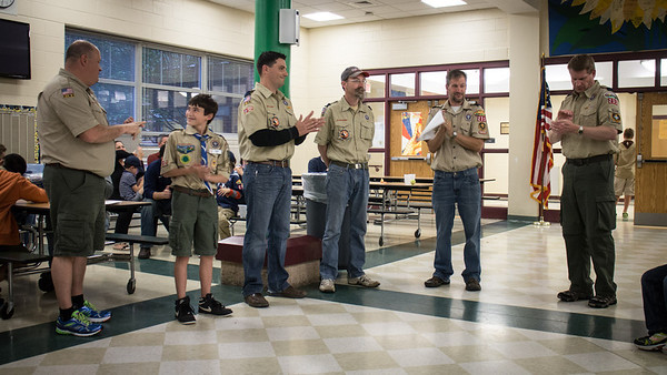 Pack 231 Advancement Ceremony
