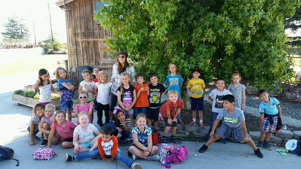 Seamus' 1st grade field trip to Yesterday's Farm 10/26/17