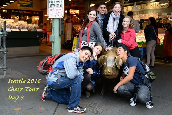 Seattle Tour Day Three
