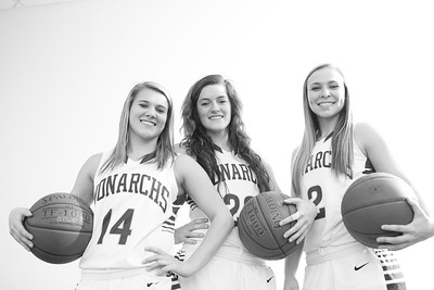 Senior girls bball 2014