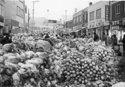 Vegetable Market- Etaewon?
