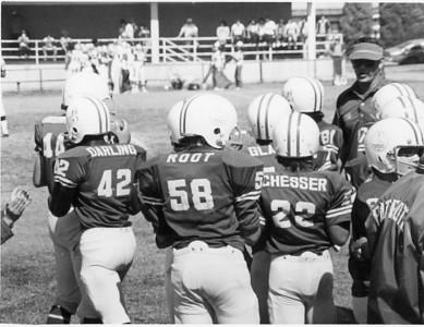 Patriots Football Team Amando Darling, Gary Root, Jim Chesser  ???