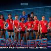 Serra Volleyball Team RisingUp Horizontal 8x10