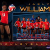 J Williams Varsity Volleyball GrungeSports_MemoryMate