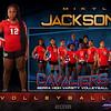 M Jackson Varsity Volleyball GrungeSports_MemoryMate