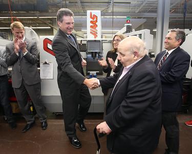 Shawsheen Tech machine shop 121917