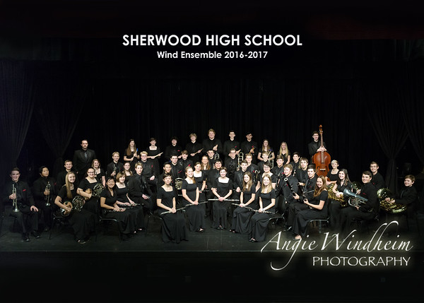 SHS Wind Ensemble 2016-2017