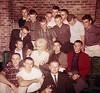 December 1962 Playmate visits Sig Ep:  Richard Thompson, Fred Neal, Randy Waldron, R.C. Hassell, June Cochran, Henry Prior, Gary Purcell, Joe Thigpen, Gerry Salvo, Ross Small, Bill Sweatt, Evelio Mederos, Joe Guthrie, Mike Brinkley, _____?, John Hampton, _____?