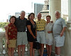 Las Vegas mini-reunion:  Patti and Pete Rowe '64; Joan and Steve Shewbrooks '66; Mishelle and Bruce Irvine '64.