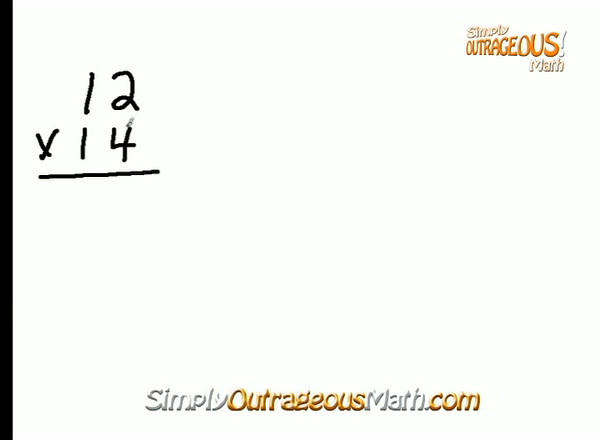 Learn 2 Digit Cross Multiplication in Simply Outrageous Math